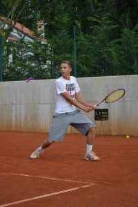 na korcie tenisowym